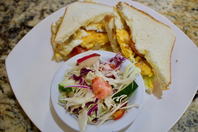 Fried Egg Sandwich Cut The Crap Kitchen Costa Rica