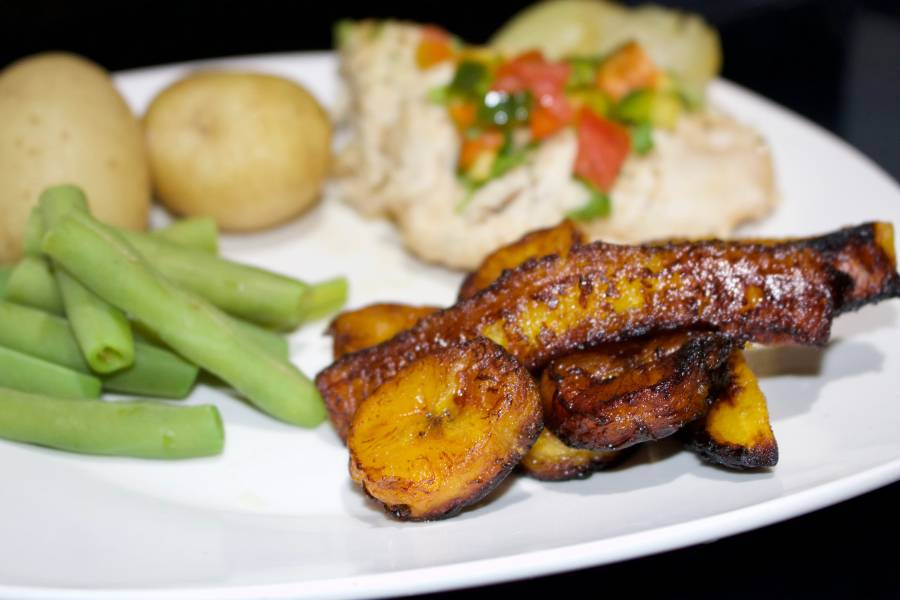 Fried Plantains Cut The Crap Kitchen Costa Rica How